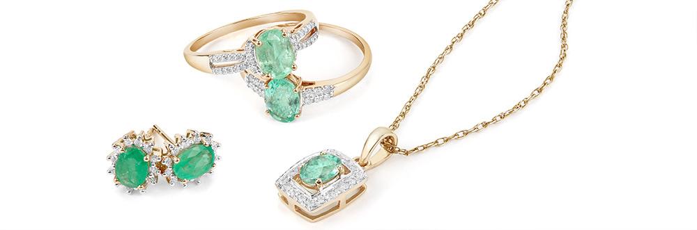 Zambian Emerald Jewellery