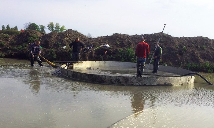 Baltic Amber being mined