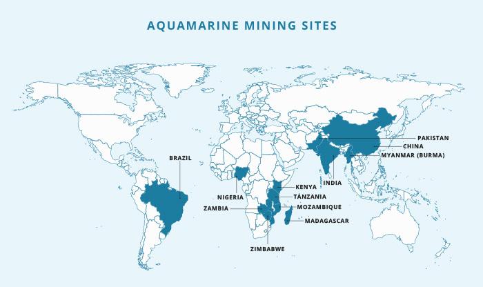 Aquamarine mine map