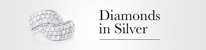 Diamonds in Silver