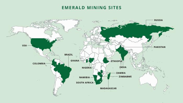 Emerald mine map