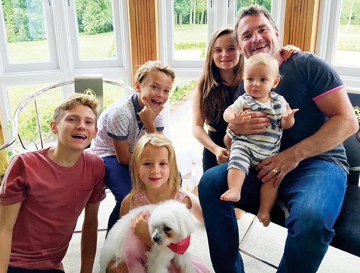 Steve Bennett and family