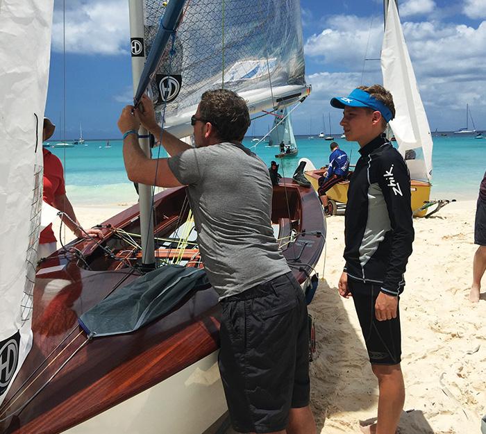 Steve Bennett yachting
