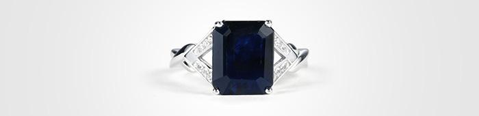 Designer Sapphire ring