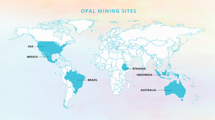 Opal mine map