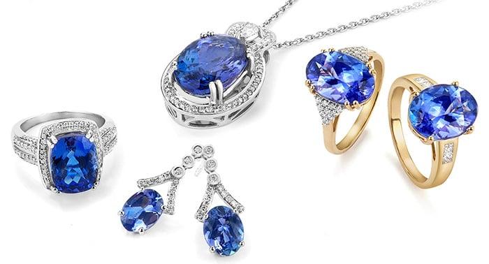 Tanzanite Jewelry Selection