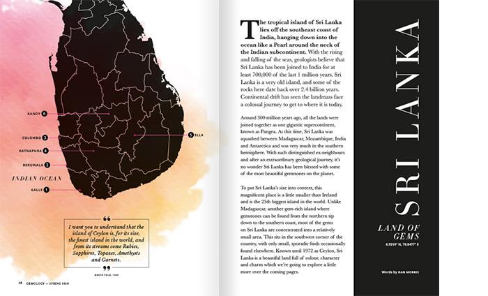 Gemstones Mined in Sri Lanka