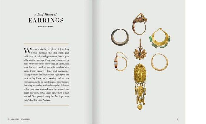 Earrings History