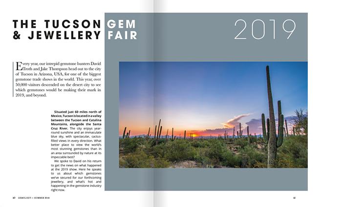 Tucson Gemstone And Jewellery Fair 2019