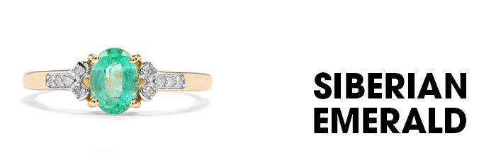 Siberian Emerald Ring
