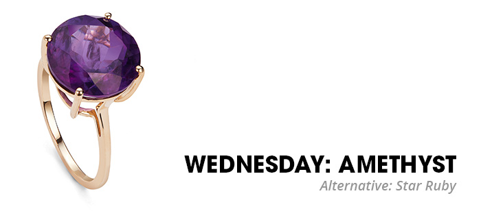 Wednesday Amethyst