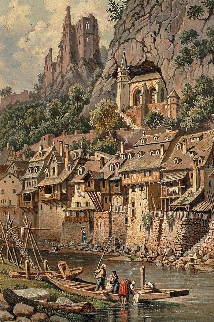 Idar-Obersetin by Hubert Sattler