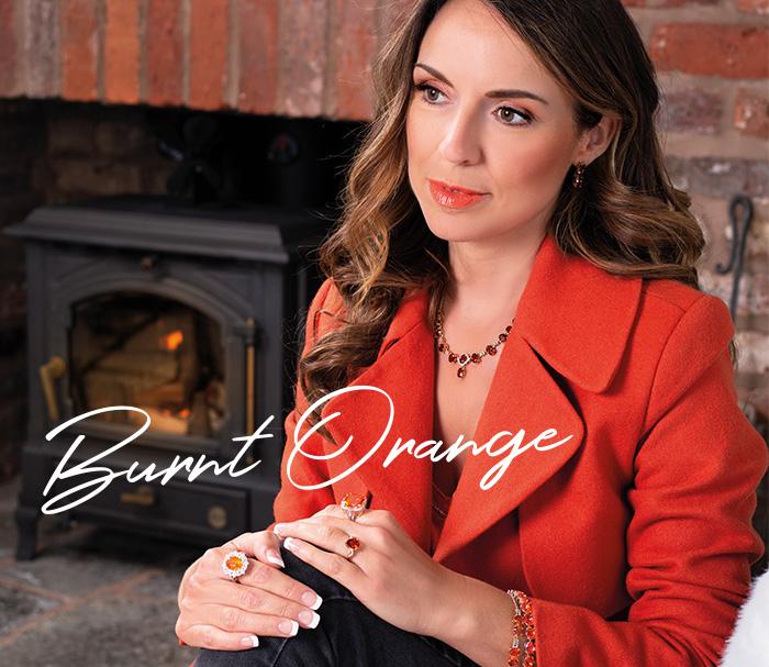 Burnt Orange Gemstones