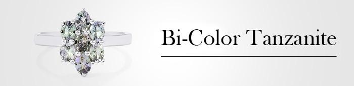 Bi-Color Tanzanite