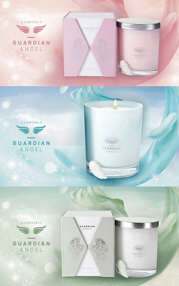 Guardian Angel Candles