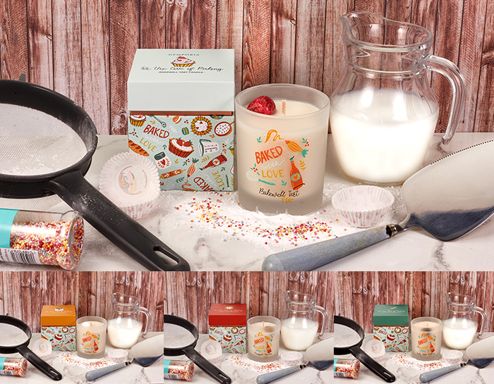 For The Love of Baking Candles