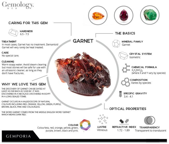 Garnet Infographic