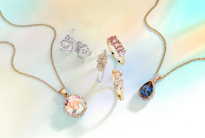 Topaz jewelry selection