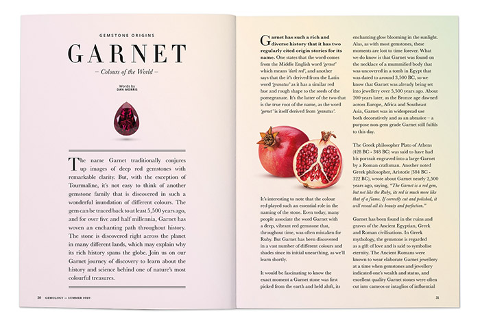 Garnet History