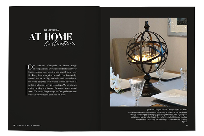 Gemporia At Home Collection