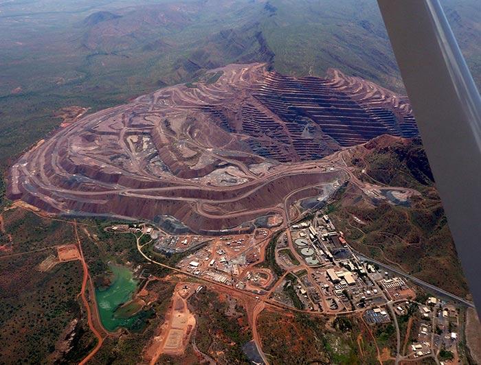 Argyle Diamond Mine Australia
