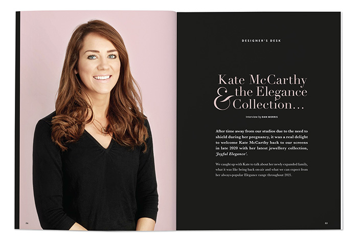 Kate McCarthy and the Elegance Collection