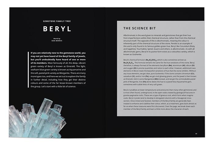 Gemstone Family Tree: Beryl