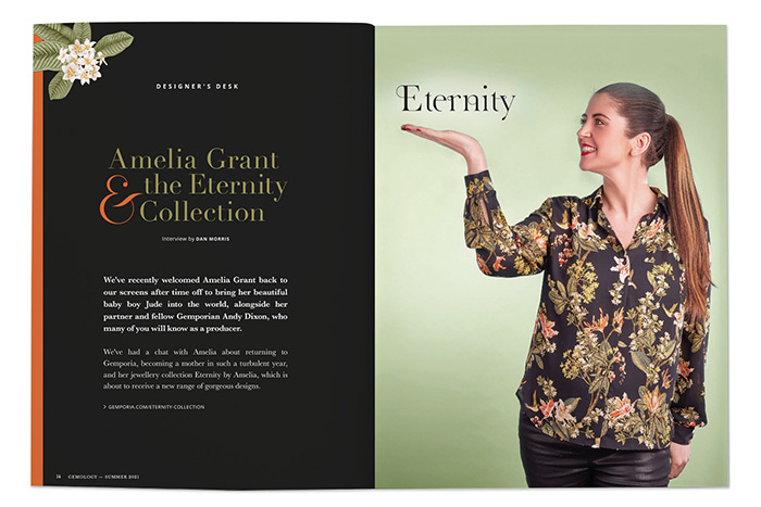 Amelia Grant and the Eternity Collection