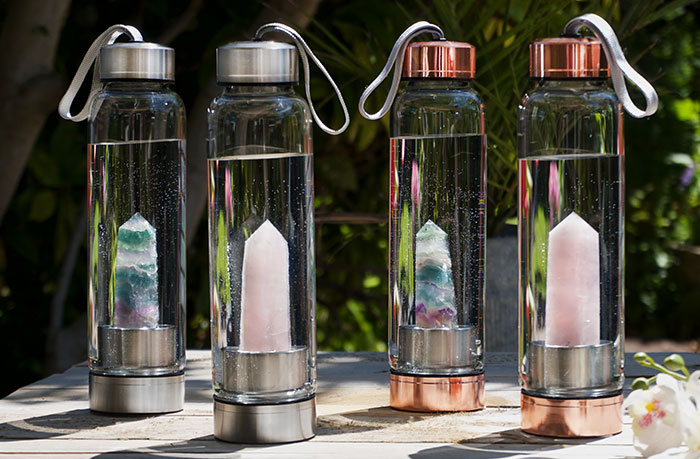 Gemstone Water Bottles with Michelle Gregory