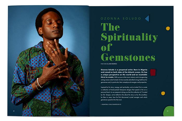 Ozonna Soludo: The Spirituality Of Gemstones
