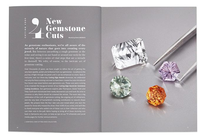 Four New Gemstones Cuts