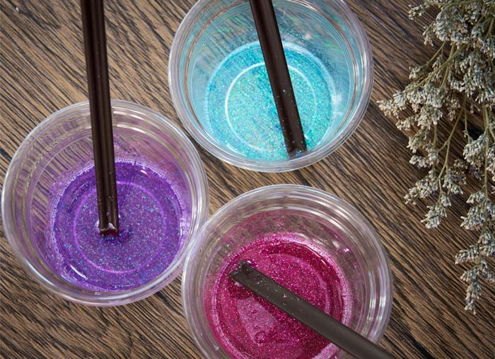 Colorful Resins