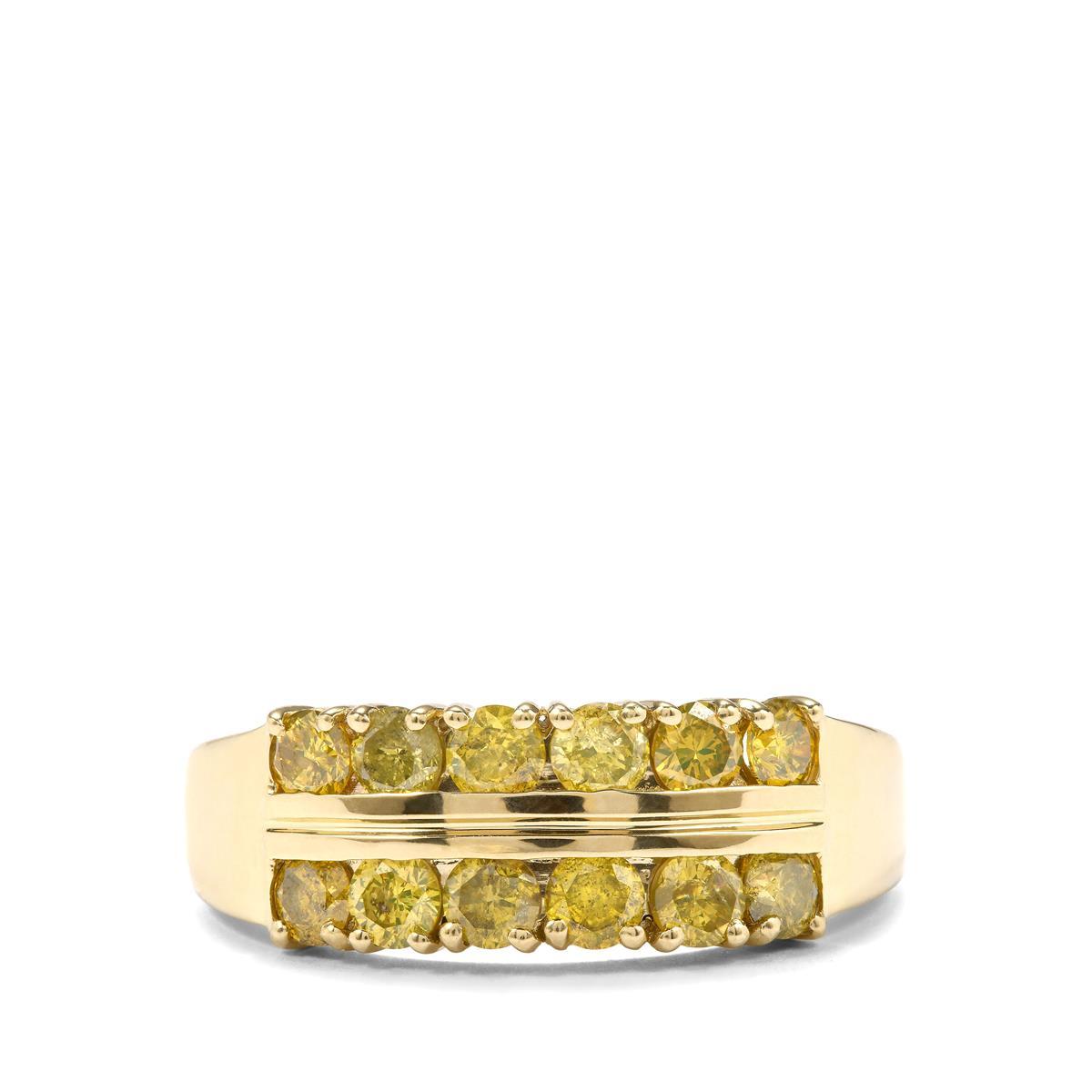 Diamond Yellow 05ctsHbeq35 Gemporia 1 Ring Gold 9k In 1F3lcTKJ