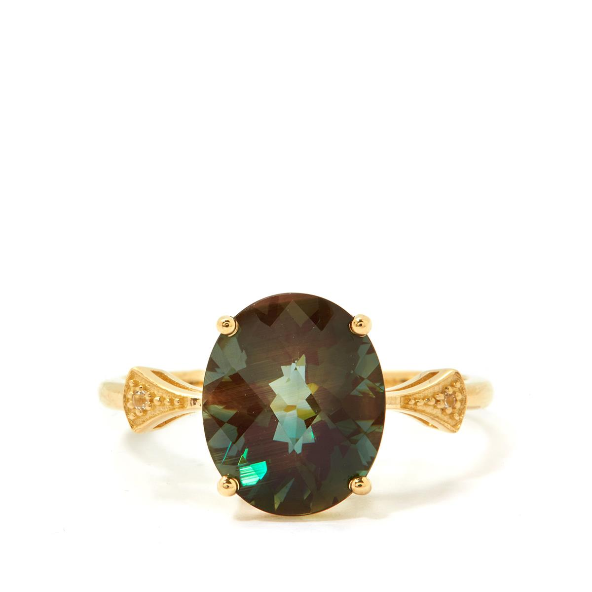Colour Change Andesine Ring
