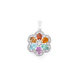 2.83ct Exotic Gem Sterling Silver Pendant