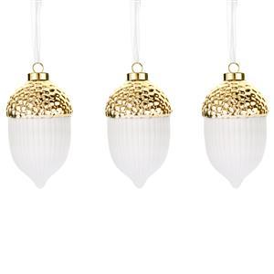 Gem Auras Hanging Acorn Decorations