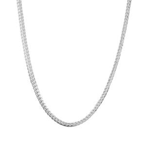 """22"""" Sterling Silver Tempo Franco Chain 4.65g"""
