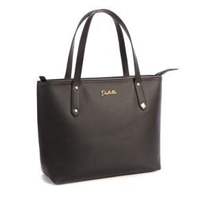 Destello Riya Tote Handbag (Vegan Leather Colour Black)