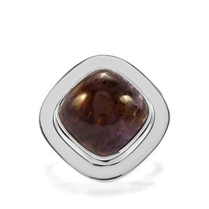 8.64ct Cacoxenite Sterling Silver Aryonna Ring
