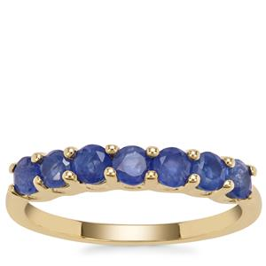 Burmese Blue Sapphire Ring in 9K Gold 1.26cts