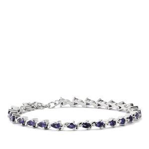 4.45ct Bengal Iolite Sterling Silver Bracelet