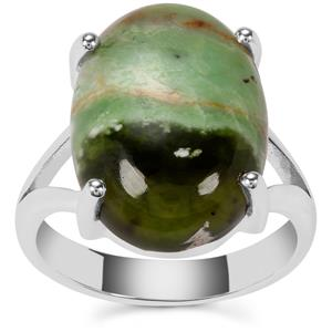 Opal Chalcedony Ring in Sterling Silver 8cts