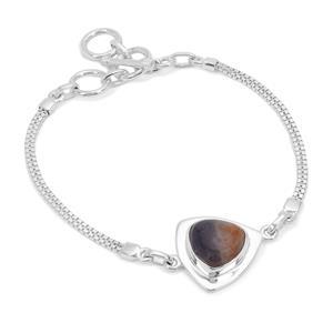 Iolite Sunstone Bracelet in Sterling Silver 6.50cts