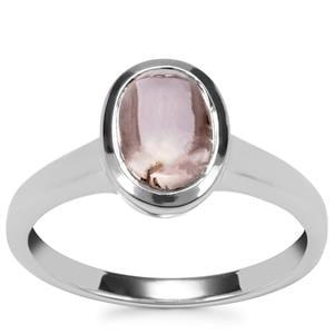 Kolum Kunzite Ring in Sterling Silver 2.31cts