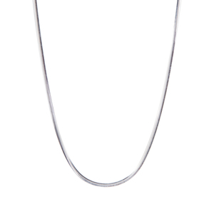"18"" Sterling Silver Tempo Oval Snake Chain 4.64g"
