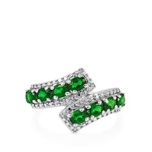 1.59ct Chrome Diopside Sterling Silver Ring