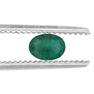 Zambian Emerald GC loose stone  1.10cts