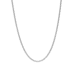 """18"""" Sterling Silver Classico Prince of Wales Chain 1.90g"""