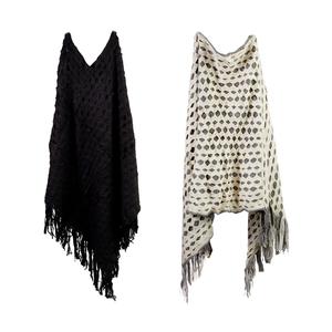 Destello Double Weave Poncho