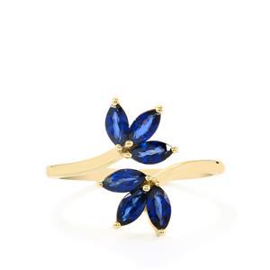 1.04ct Sri Lankan Sapphire 9K Gold Ring